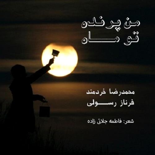 دانلود آهنگ جدید محمدرضا خردمند من پرنده، تو ماه